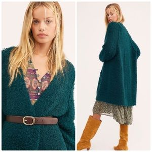 Free People Once in a Lifetime Long Cardigan Small